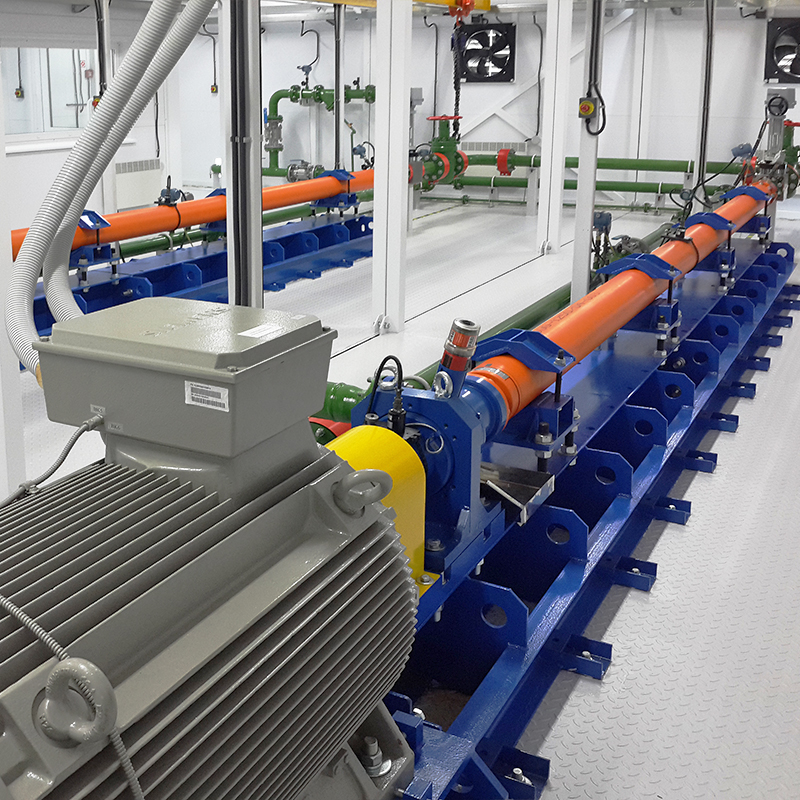 HPS horizontal pumping systems in a permanent enclosure