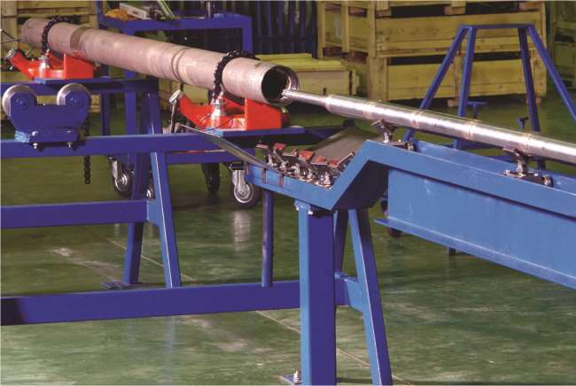 Banco de prueba para montaje de motores en el taller