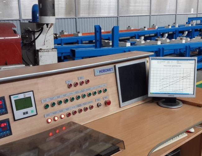 Banco de prueba para motores abiertos en el taller