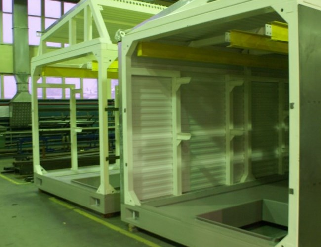 Fotografía de una unidad modular, otro tipo de equipo que ofrecemos